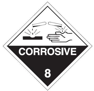 Corrosives sign_Fort Knox Self Storage
