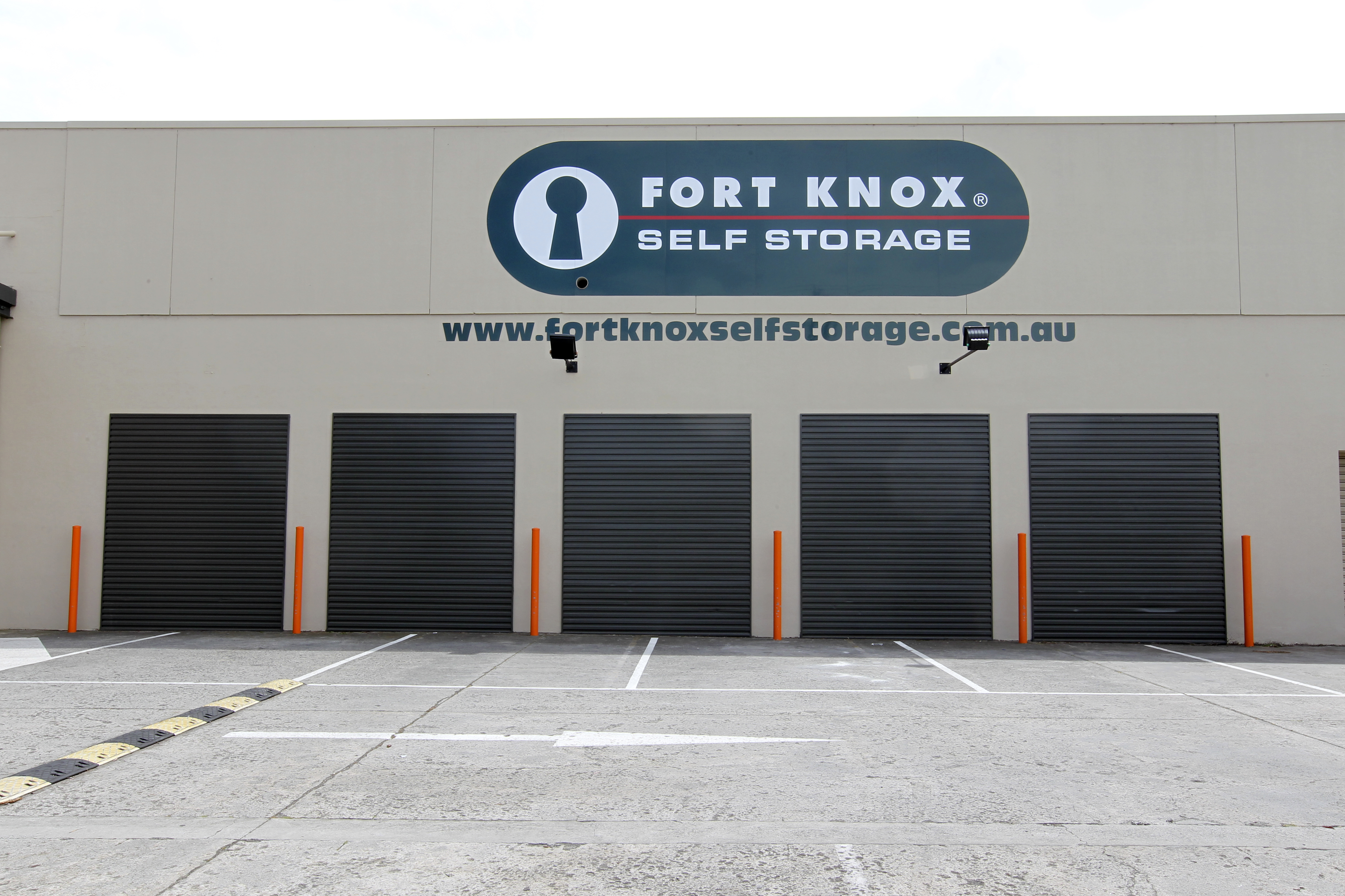 With easy access top all units, Fort Knox Alphington has storage spaces of all shapes and sizes.