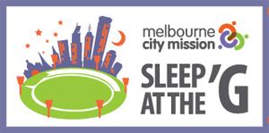 Sleep At The G logo